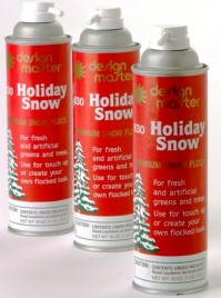 Holiday Snow Spray