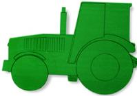 Foam Frame Tractor