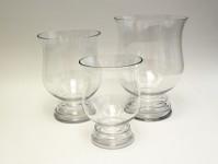 Glass Hurricane Vase Clear