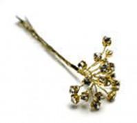 Diamante Spray on Gold Wire
