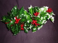 Large Holly Pick - Green