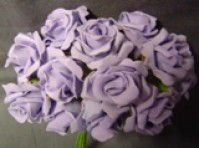 Foam Rose - Mini Bud - Lavender
