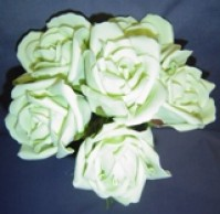 Foam Rose - Extra Large Bud - Pale Green