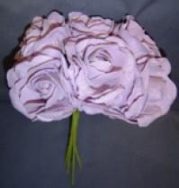 Foam Rose - Open Crinkle - purple