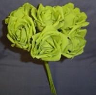 Foam Rose - Extra Large Bud - Green