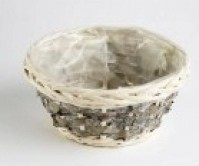 Bark Bowl with Liner - 25 x 12cm