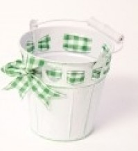 County Tin Bucket - Green