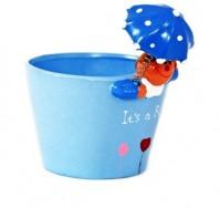 Umbrella Boy - Blue