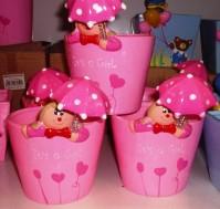 Umbrella Girl - Pink
