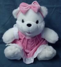 Teddy Bear in Pink Dress