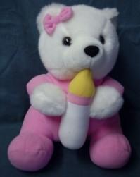 Teddy Bear with Bottle
