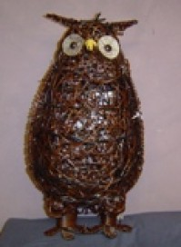 Owl - with LED lights