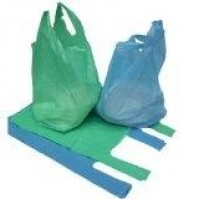 Recycled Vest Carriers - Blue - Green