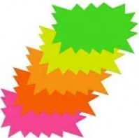 Flash Cards - Assorted Colours