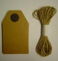 Large Paper Tags - Brown