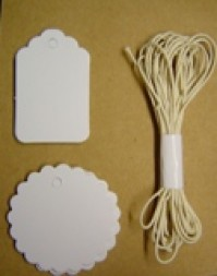 Paper Tags - White