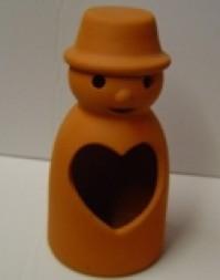 Terracotta Flowerpot Man