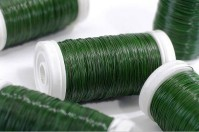 Reel Wire - Green Lacquered 100g